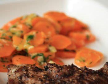 Steak aux épices