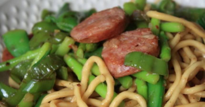 Nouilles sautées façon asiatique