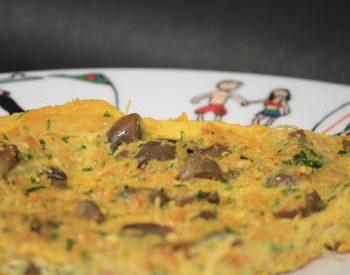 Tortilla aux champignons