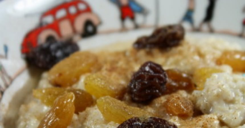 Porridge aux flocons d'avoine