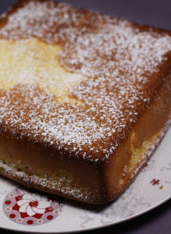 Gâteau moelleux citron & purée d'amandes