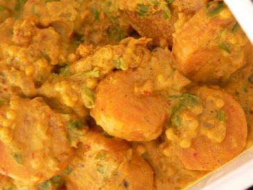 Curry Indien de carottes