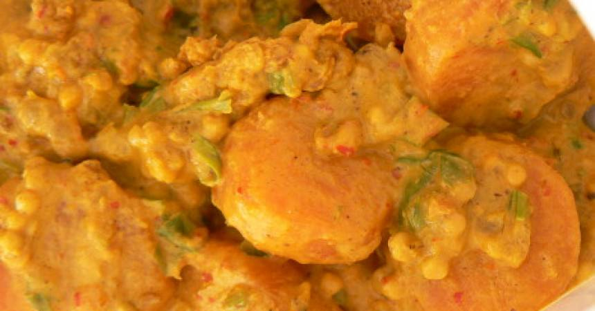 Curry indien de carottes ma p 39 tite cuisine - Ma p tite cuisine ...