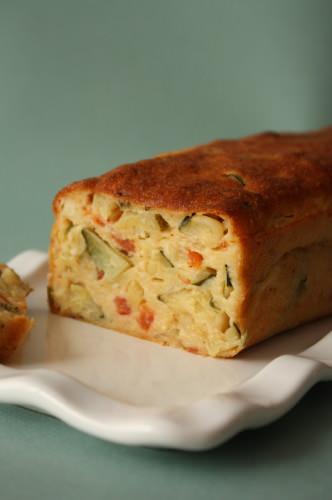 Recette Cake Courgette Fleury Michon