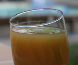 Punch ananas & rhum arrangé à la mangue