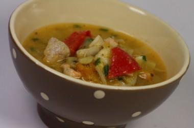 Salmon chowder, la soupe de poisson façon Irlandaise