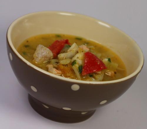 Salmon chowder la soupe de poisson fa on irlandaise ma - Cuisine soupe de poisson ...