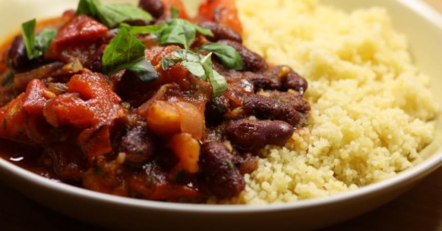 Chili de haricots au chorizo ma p 39 tite cuisine - Cuisiner haricot rouge ...