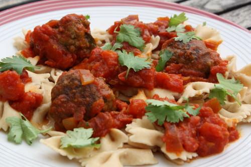Boulettes de boeuf la tomate audrey cuisine - Comment cuisiner des boulettes de boeuf ...