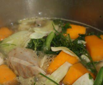 Soupe de tous les légumes