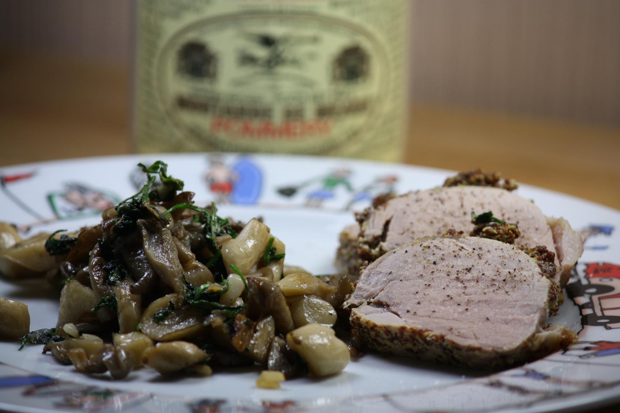 Recette Filet Mignon A La Moutarde Audrey Cuisine