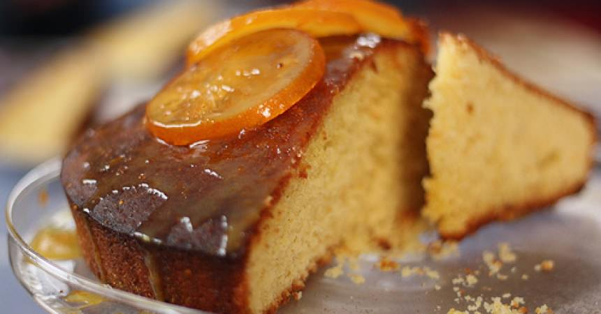 Gâteau orange & amandes