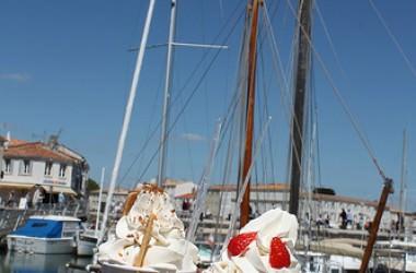La Martinière : glacier artisanal sur l'Ile de Ré [Charente Maritime]