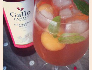 Rosé californien pour cocktail d'été