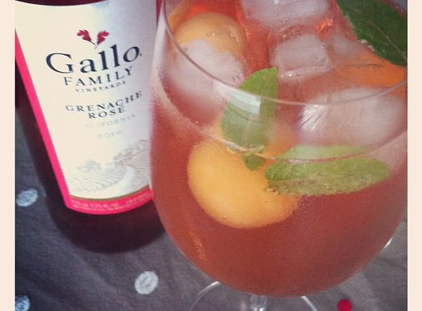 Rose Californien Pour Cocktail D Ete Audrey Cuisine