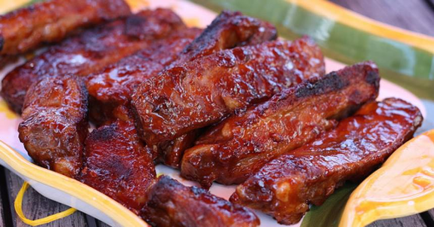 Recette des ribs la sauce bbq ma p 39 tite cuisine for Marinade au paprika pour barbecue