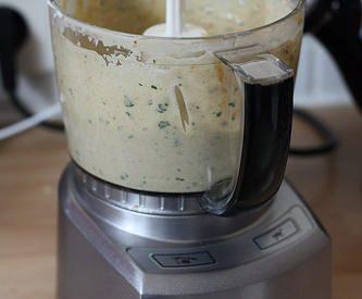 Sauce / dip lait de coco & cacahuète