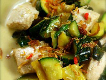Un p'tit curry de poisson, à l'espadon, pour mettre du soleil dans son assiette