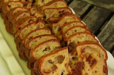 Cake lardons tomates séchées