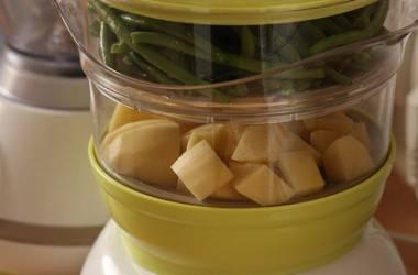 Purée de haricots verts au lait de coco (dès 12 mois)