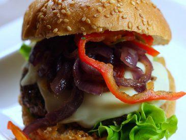 Hamburger un peu basque …