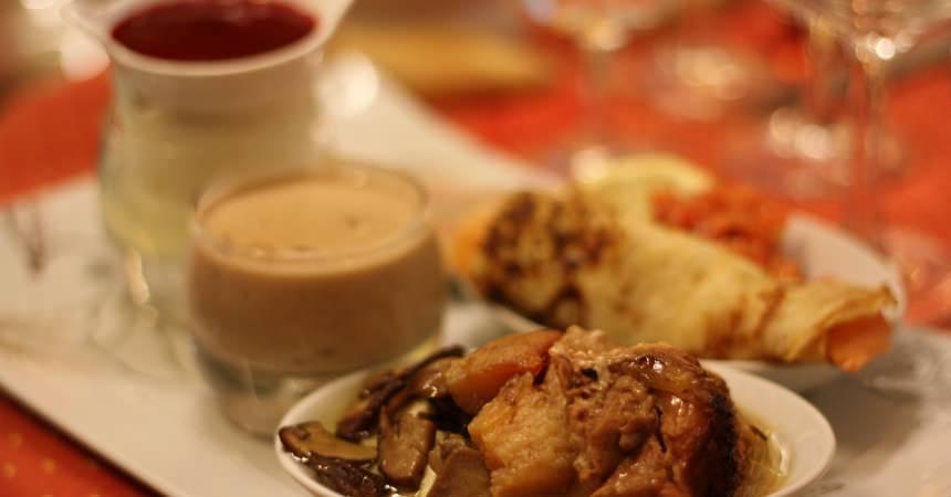 La cousina, soupe de châtaigne d'Ardeche