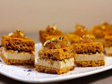 Bouchées de foie gras au pain d'épices [Recette de Noël]