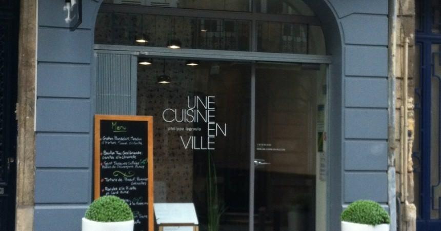 Restaurant Une Cuisine En Ville Bordeaux Ma Ptite Cuisine - Une cuisine en ville bordeaux