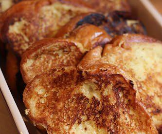 La recette facile du pain perdu avec de la brioche