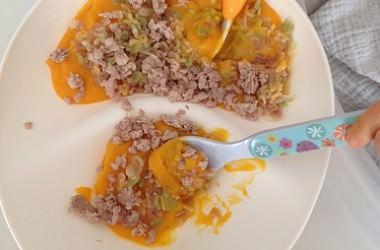 Purée de butternut & curry (dès 6 mois)
