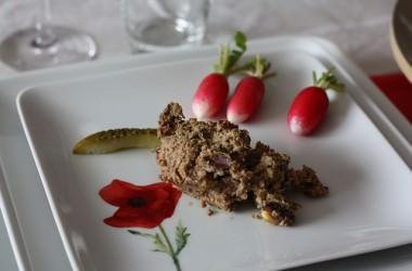 Terrine de canard aux pistaches