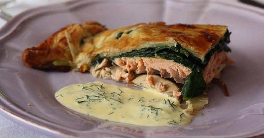 Koulibiac de saumon ma p 39 tite cuisine - Ma p tite cuisine ...