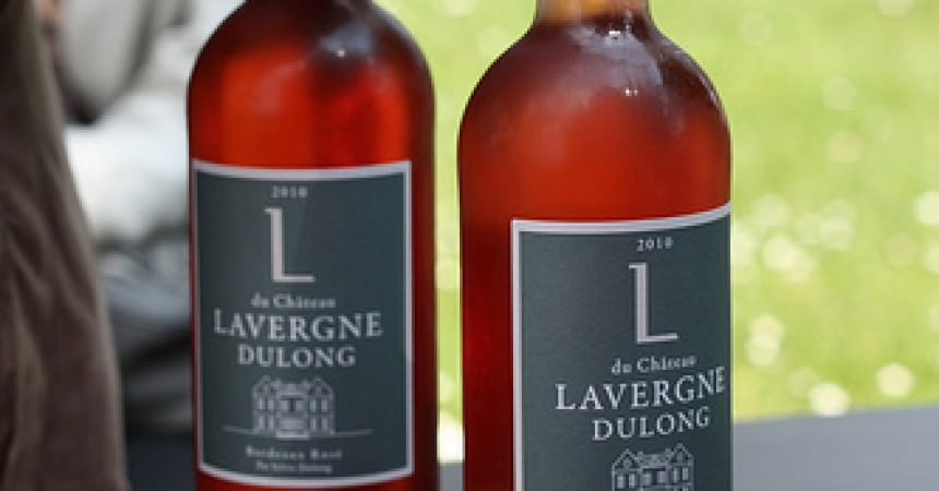 Un verre de Bordeaux Rosé, pour accompagner l'été