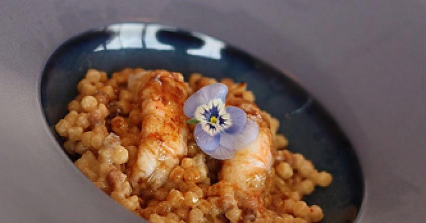 Cours de cuisine au saint james bouliac un rissotto de fregola aux langoustines ma p 39 tite - Cours de cuisine londres ...