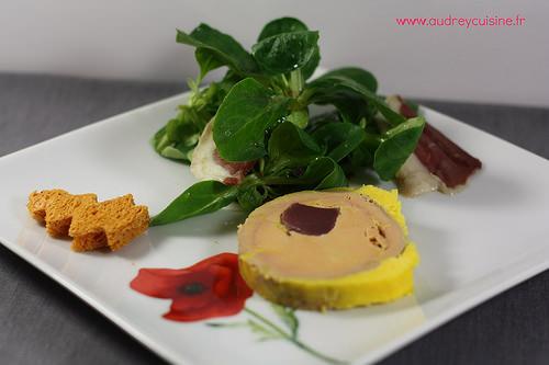 Foie gras de canard maison farci aux g siers ma p 39 tite - Decoration assiette de foie gras photo ...