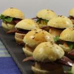 Burger au foie gras