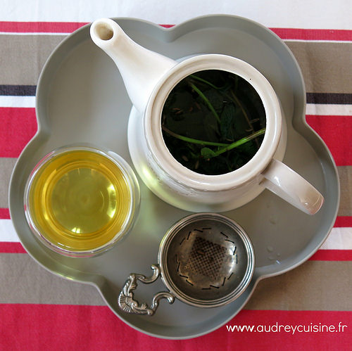 infusion menthe verveine fenouil