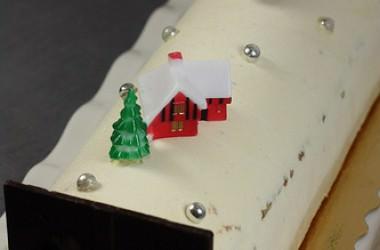 Recettes de la Buche de Noël, vanille & caramel