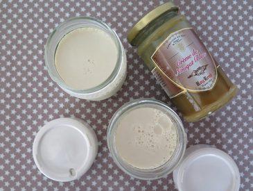 Yaourts abricot & nougat blanc