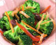 Salade de brocolis au saumon fumé