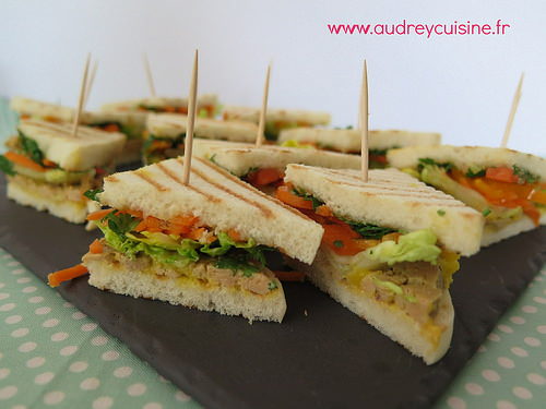 club sandwich foie gras