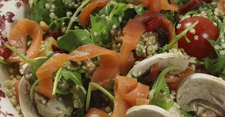 Salade de quinoa aux baies de Goji