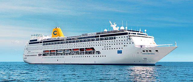 Ca y est c'est parti pour une Croisière sur la Méditerranée avec Costa !