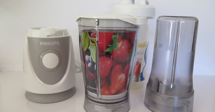 Le mini blender Philips Daily Collection, pour des smoothies à emporter