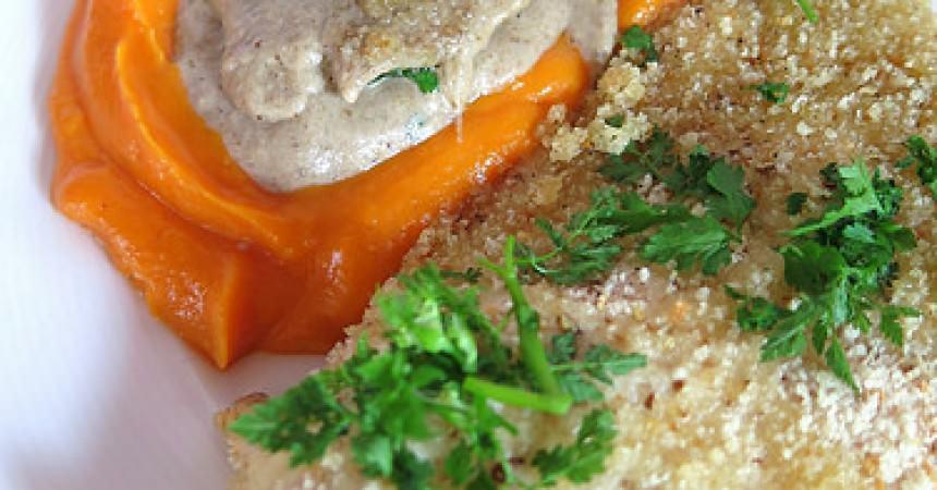 Escalopes de dinde aux champignons ma p 39 tite cuisine - Cuisiner escalopes de dinde ...