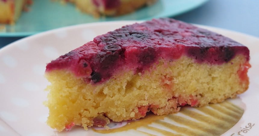 Cake Moelleux Fruits Rouges