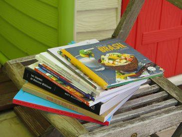 Lectures d'été, mes livres de cuisine préférés