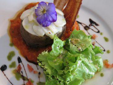 Restaurant Côté Jardin, Chambilly en Bourgogne