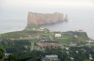 A la découverte de la Gaspésie, le village de Percé