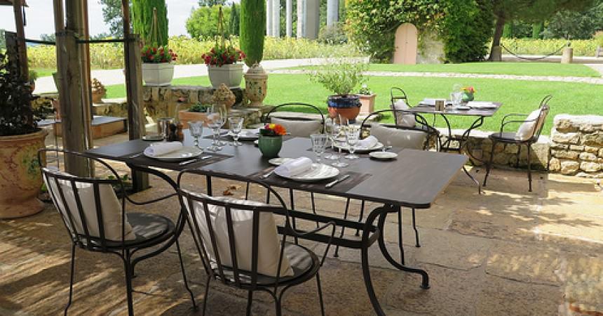 Restaurant Les Belles Perdrix, Château Troplong Mondot à Saint Emilion (33)